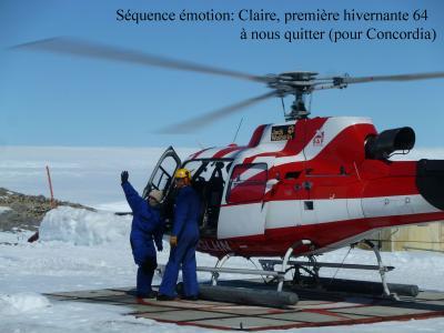 Le départ de Claire