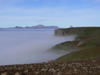 Suzanne dans le brouillard